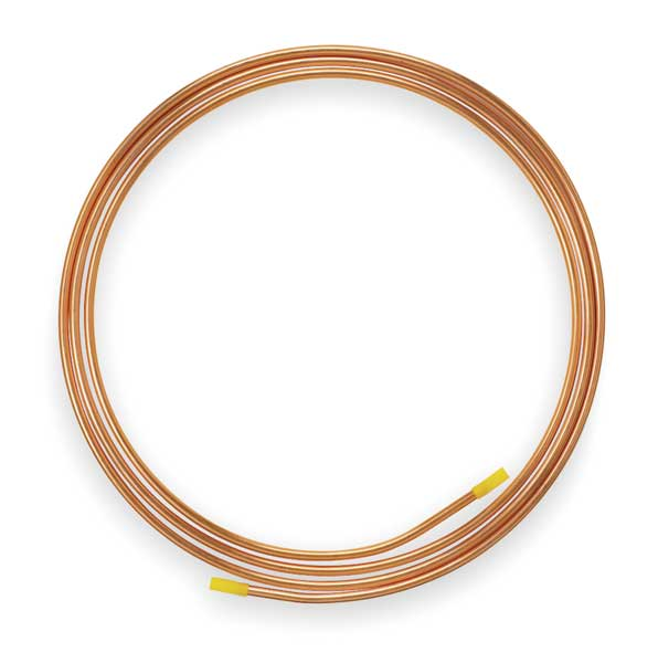 "Mueller Industries 3/8"" OD x 20 ft. Coil Copper Tubing Type ACR D 06020P"