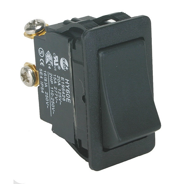 Power First Rocker Switch, SPST, 2 Connections 2LNC2