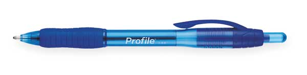 Paper Mate Retractable Ballpoint Pen,  1.4 mm,  Blue PK12 89466