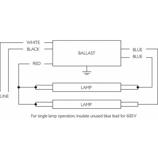 Advance Sign Ballast Wiring Diagram