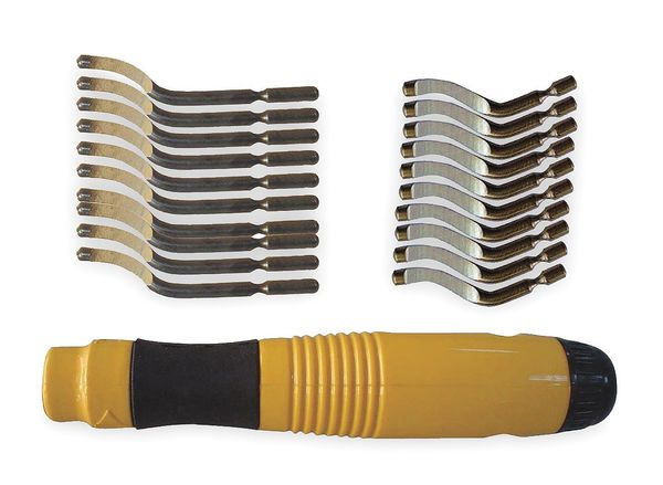 Westward Deburring Tool Handle Kit, B, E Series 2NXJ1