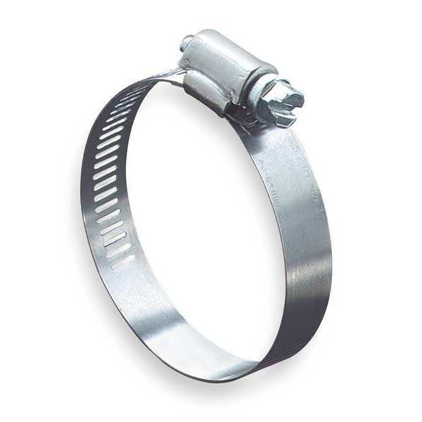 Zoro Select Hose Clamp, 3/4 to 1-3/4In, SAE 20, SS, PK10 5720