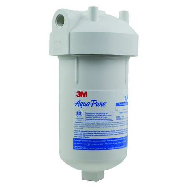 """3M Aqua-Pure 5 Micron,  4-7/8"""" O.D.,  9-13/16"""" H,  Water Filter System 5528901"""