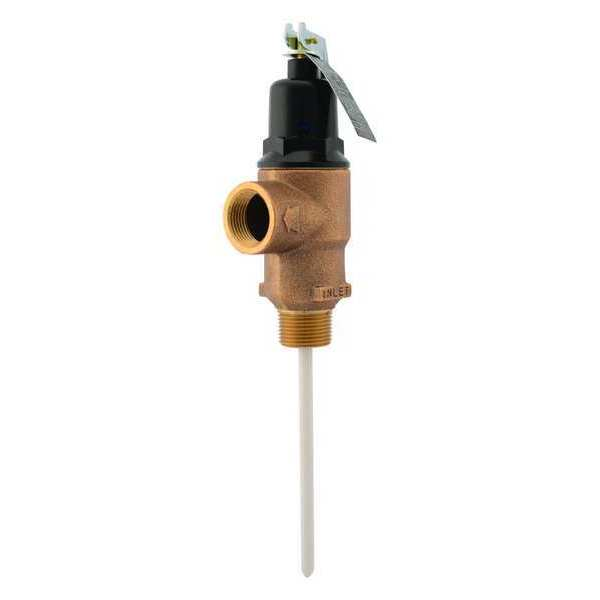 Cash Acme T and P Relief Valve, MNPT x FNPT FVMX-5C