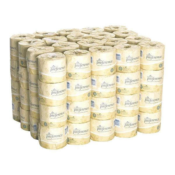 Georgia-Pacific Preference(R) Standard Toilet Paper Roll,  2,  550 18280/01