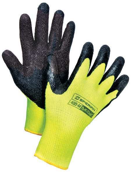 Honeywell Cut Resistant Gloves, M, Black/Yellow, PR 400-M