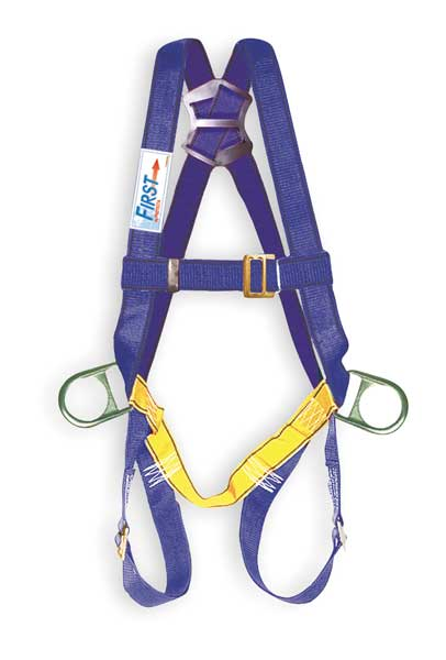 3M PROTECTA AB17520 First Vest-Style Positioning Harness Universal 320 Blue