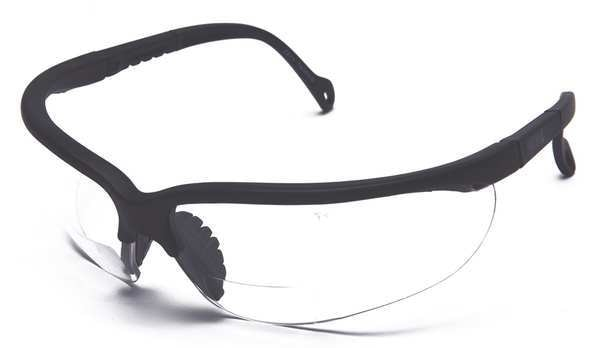 Condor Reading Glasses, +2.5, Clear, Polycarbonate 2VKZ8
