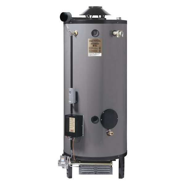 Rheem-Ruud Natural Gas Commercial Gas Water Heater,  76 gal.,  120V AC G76-200