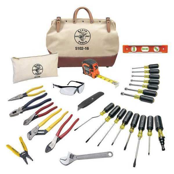 Klein Tools General Hand Tool Kit, No. of Pcs. 28 80028