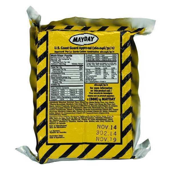 First Aid Only Emergency Food Ration Packet M837-ER