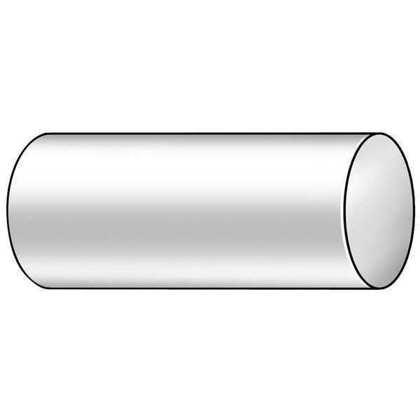"""Clear L POLYMERSHAPES Polycarbonate Rod,Poly,Clear,5//8/"""" Dia x 3 ft 2XPV8"""