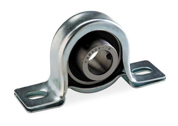 "Dayton Pillow Block Bearing, Ball, 3/4"" Bore 2X899"