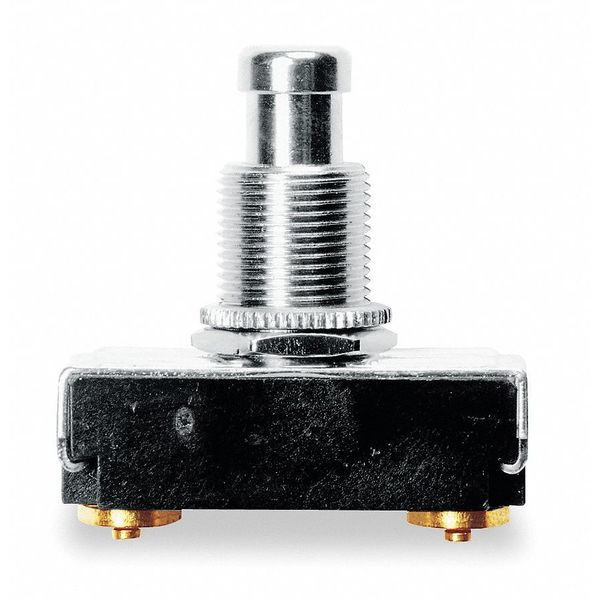 Carling Technologies Miniature Push Button Switch,  15A @ 125V,  Terminals: Screw 172