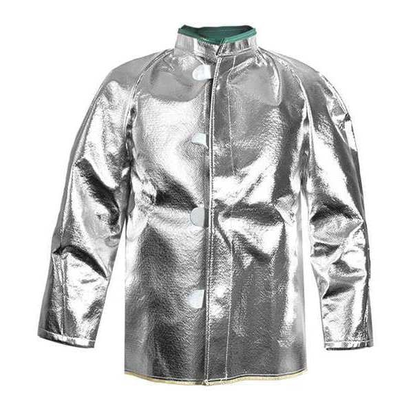 National Safety Apparel Aluminized Jacket, XL, Carbon Kevlar(R) C22NLXL30
