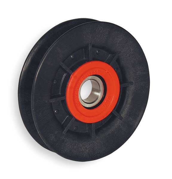 Fenner Drives V-Belt Idler Pulley, A Belt Type, 4 In O D VA4001