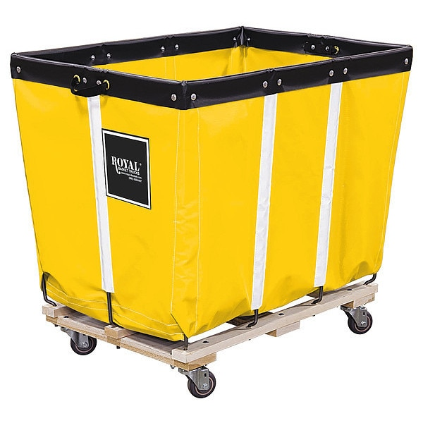 Royal Basket Truck Basket Truck, 10 Bu. Cap., Yellow, 36 In. L G10-YYW-PMA-3UNN
