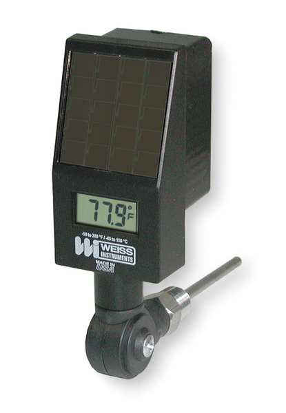 Weiss Bimetal Thermometer, -40 to 300F DVBMT4