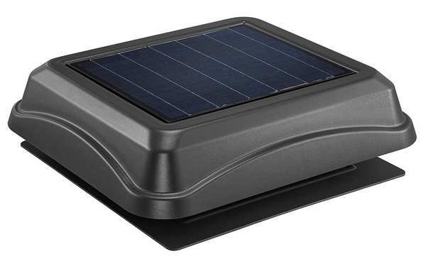 Broan 537 CFM Solar Solar Powered Attic Ventilator 345SOBK