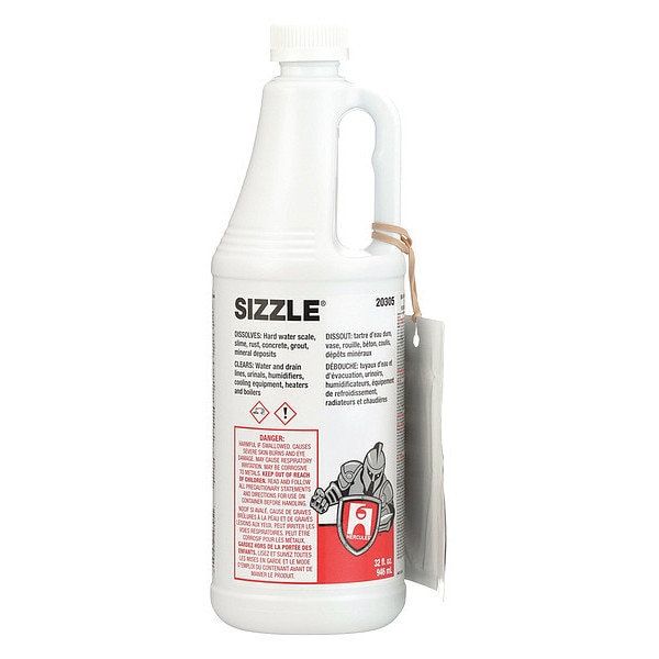 Hercules Lime,  Scale,  and Rust Remover, 1 qt. 20305