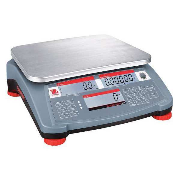 Ohaus Digital Compact Bench Scale 60 lb./30kg Capacity RC31P30