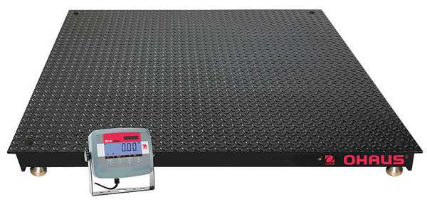 Ohaus Digital Floor Scale with Remote Indicator 5000 lb./2500kg Capacity VN31P5000X-US