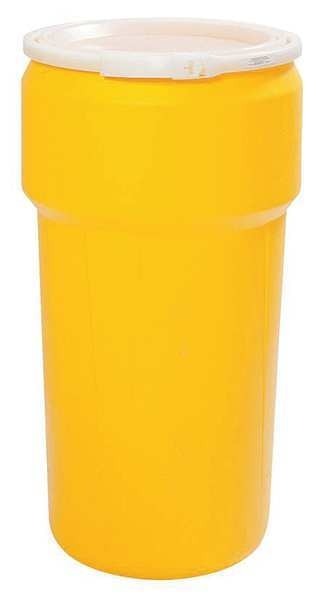 Eagle Transport Drum, Open Head, 20 gal., Yellow 1623