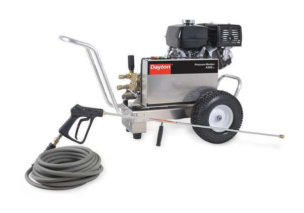 Dayton Industrial Duty 4200 psi 3.4 gpm Cold Water Gas Pressure Washer 20KC11