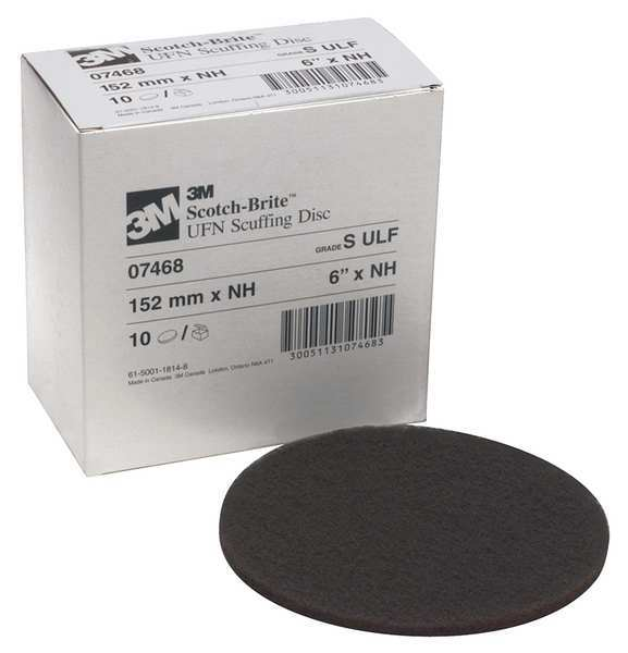 Scotch-Brite Surface Conditioning Disc, 6 in., PK10 07468
