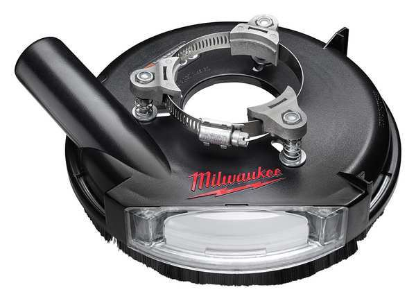 Milwaukee Grinding Dust Shroud, 7 in., Universal 49-40-6105