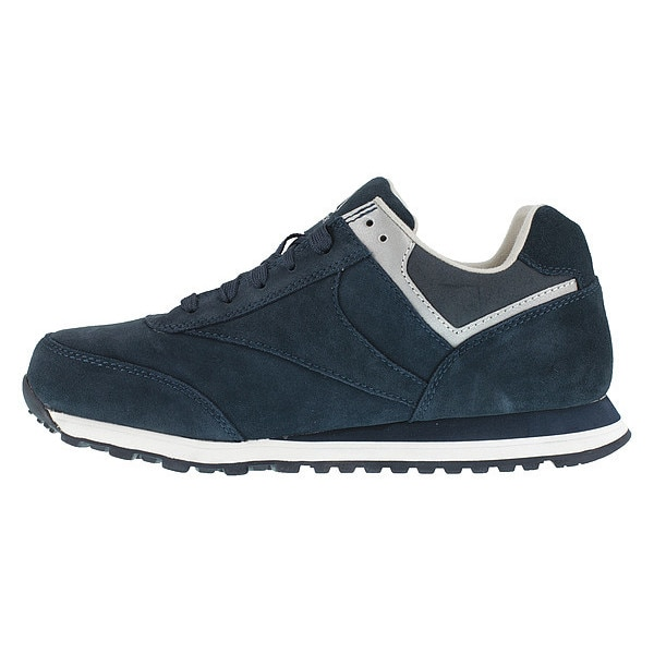 Reebok Athletic Shoes, Steel Toe, Navy, 8, PR RB1975