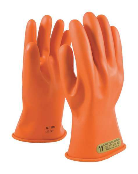 Novax By Pip Electrical Rated Gloves, Class 00, Sz11, PR 147-00-11/11