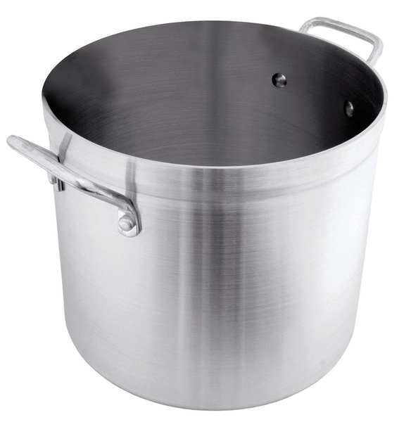 Crestware Stock Pot, 60 qt, Aluminum POT60
