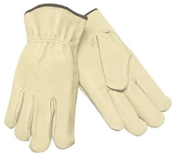 Mcr Safety Leather Palm Gloves, Pigskin Palm, XL, PR 3401XL
