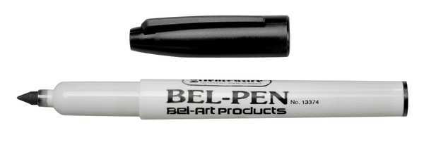 Sp Scienceware Waterproof Permanent Marker,  Black,  PK3 F13374-0000