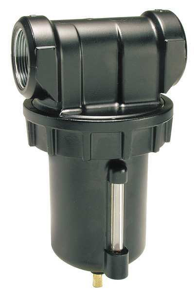 Parker Compressed Air Filter, 175 psi, 4.9 In. W F602-12WGR/M4