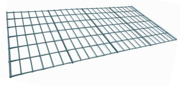 Worldwide Material Handling Decking, Wire Mesh, 48 in., 24 in., 750 lb. FD2448B-5-NOW