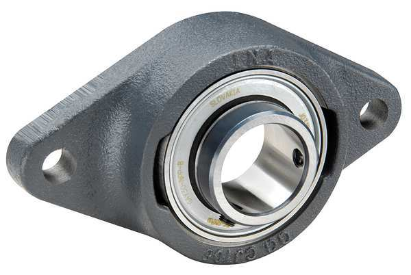 Ina Flange Bearing, 2-Bolt, Ball, 70mm Bore RCJTY70