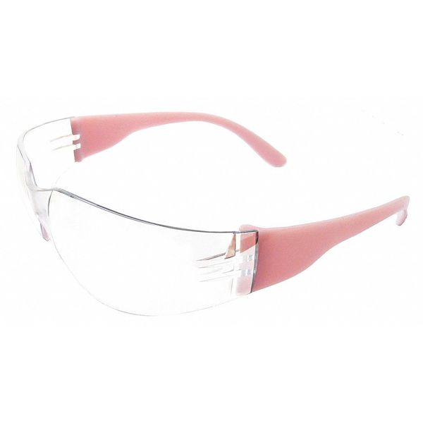 Erb Safety Erb Safety Clear Safety Glasses,  Anti-Fog,  Frameless 17946