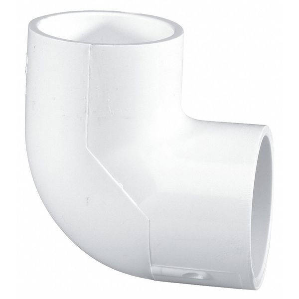 "Lasco 1"" Socket PVC 90 Degree Elbow Sched 40 406010BC"