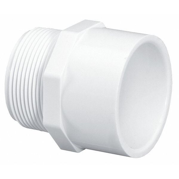 """Lasco 1"""" MNPT x Socket PVC Male Adapter Sched 40 436010BC"""