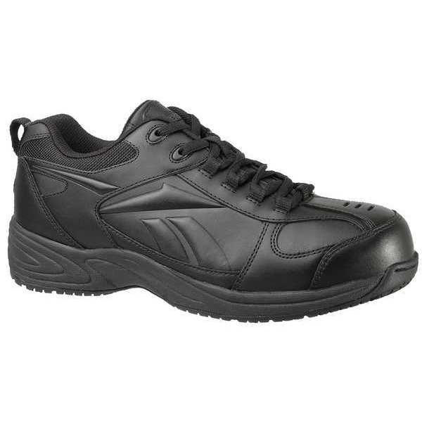 Reebok Athletic Shoes, Safety Toe, Blk, 10W, PR RB1860