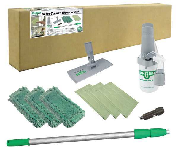 """Unger Window Cleaning System, Aluminum, 72""""L CK053"""