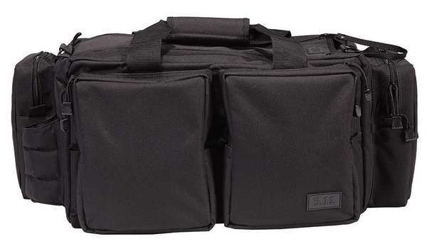 5.11 Tactical Range Ready Bag,  Durable,  All-Weather 600D Polyester,  Black 59049