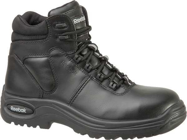 Reebok Size 13 Men's 6 in Work Boot Composite Work Boot,  Black RB6750