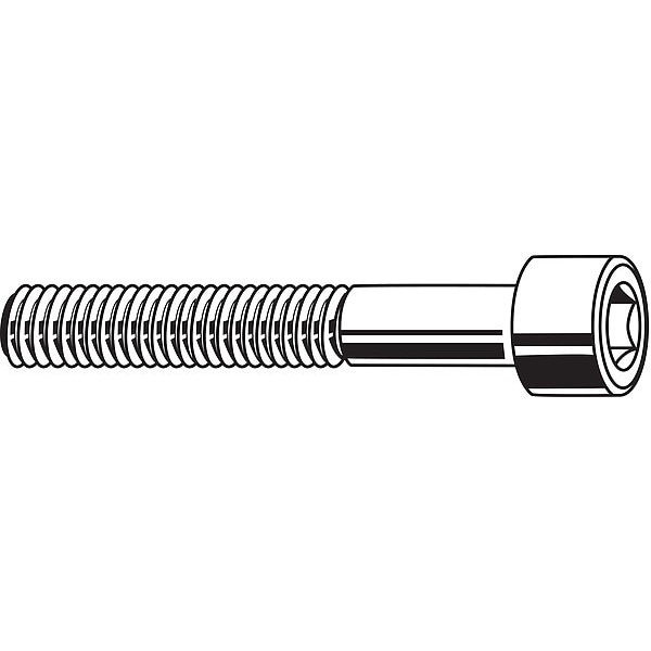 "Fabory U51050.031.0300 5//16/""-18 X 3/"" 18-8 Stainless Steel Socket Head Cap"