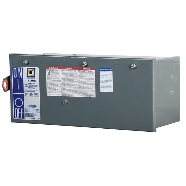 Square D By Schneider Electric Busway, CB Plug-in Unit, 100A PHJ36100GNU43X