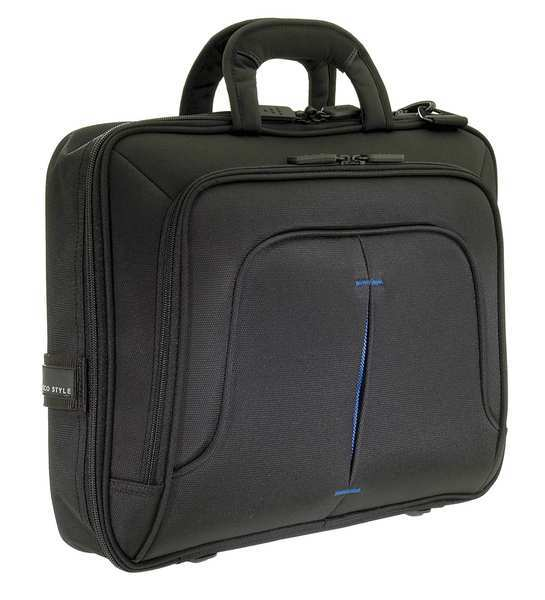 "Eco Style 16"" Laptop Case,  Black,  Nylon ETPR-BL15-CF"