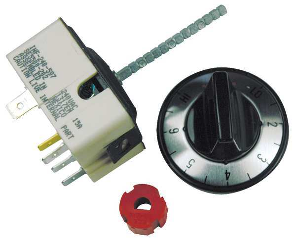 Robertshaw Infinite Control Switch,  Includes: Universal Mounting Hardware 5500-203M