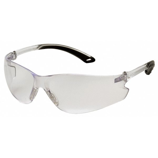 Pyramex Itek Safety Glasses,  Clear Anti-Fog,  Anti-Static,  Scratch-Resistant Lens S5810ST